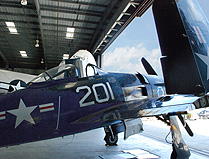 SoCal Air Museum Navy Fighter photo