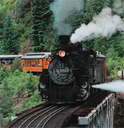 Colorado Operating Steam Train Rides D&SNGRR photo