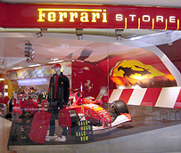 Ferrari Store Shopping Mall Los Angeles photo
