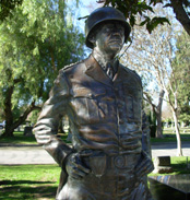 General George Patton Statue San Gabriel photo