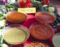 Salsa Tasting Varieties at Oxnard photo
