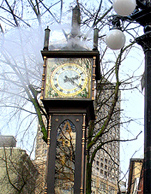 Vancouver Gas Town Steam Clock photo