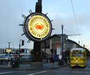 Fisherman's Wharf trolley photo